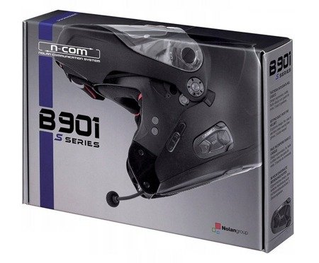 Interkom NOLAN N-COM B901 S series do kasków N91 EVO N90-2 G9.1 G4.2 Pro