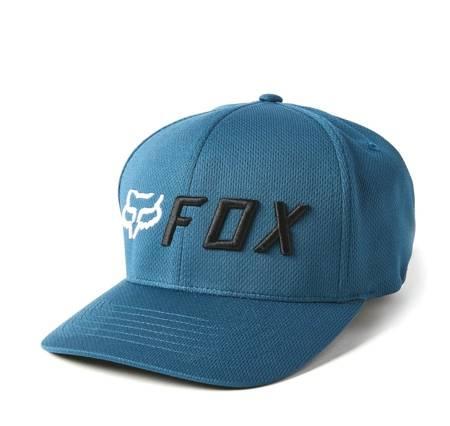 Czapka z daszkiem FOX Apex Flexfit indygo