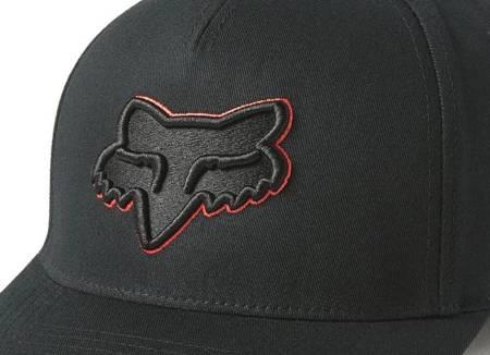 Czapka z daszkiem FOX Epicycle Flexfit 2.0 black