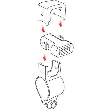 Gniazdo ładowarka USB Fast Charge 3000mA z okablowaniem
