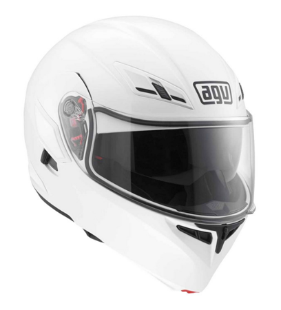 Kask AGV Compact ST Solid biały