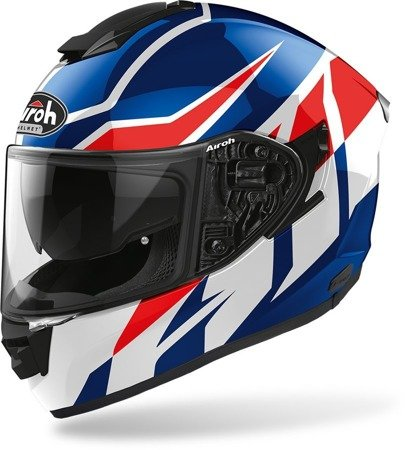 Kask AIROH ST501 blue red