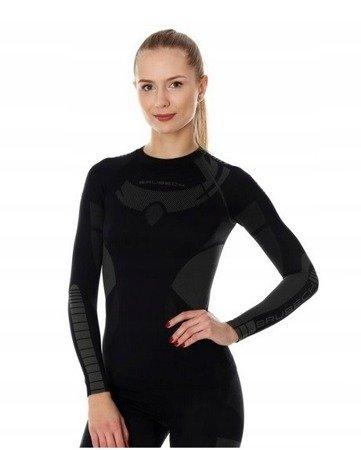 Koszulka termoaktywna BRUBECK Dry black damska