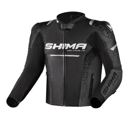 Kurtka skórzana SHIMA STR 2.0 black