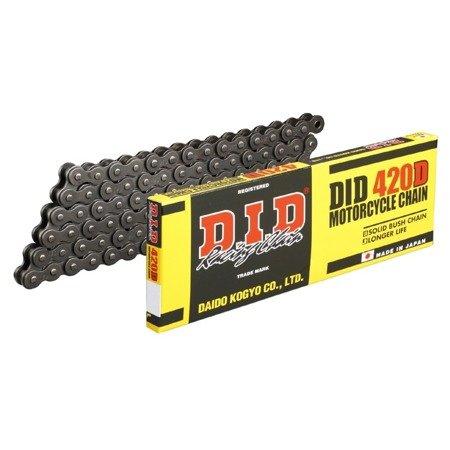 Łańcuch napędowy DID 420D 120 ogniw otwarty z zapinką klipsem