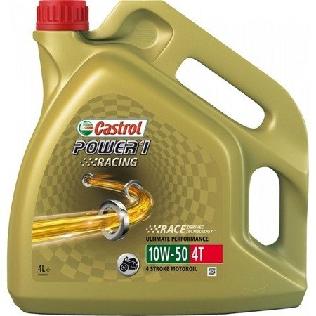 Olej silnikowy CASTROL Power 1 Racing 4T 10W50  4L