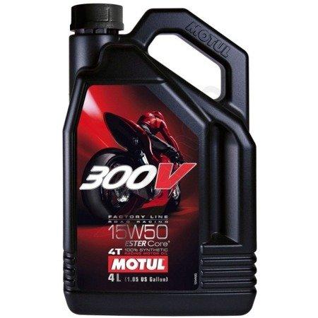 Olej silnikowy MOTUL 300V 15W50 4L
