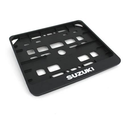 Ramka tablicy rejestracyjnej - zatrzaskowa - Suzuki