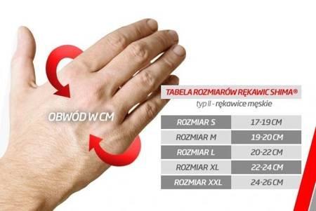 Rękawice SHIMA Blaze red