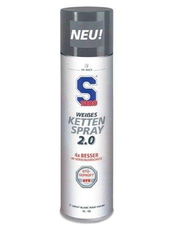 Smar do łańcucha S100 White Chain Spray 2.0 400ml