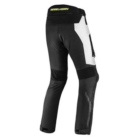Spodnie REBELHORN Borg grey fluo