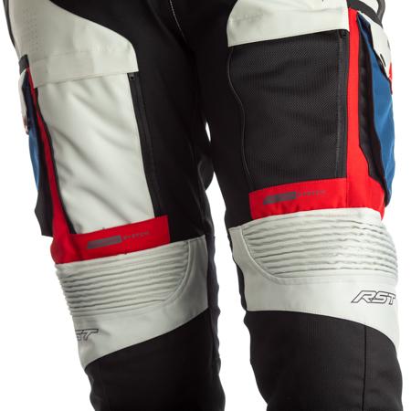 Spodnie RST Pro Series Adventure-X CE  Ice/Blue/Red/Black