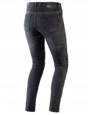 Spodnie damskie jeans OZONE Agness II black lady