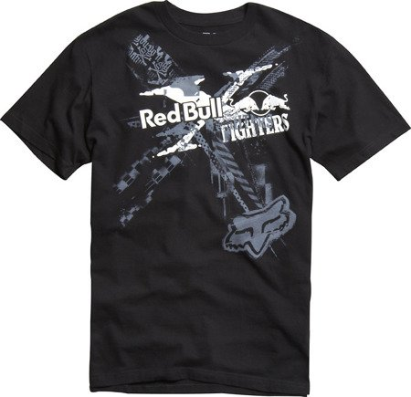 T-shirt FOX Red Bull X-Fighters czarny